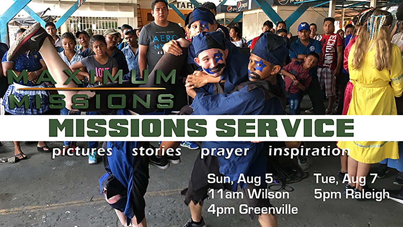 Missions Service 2018