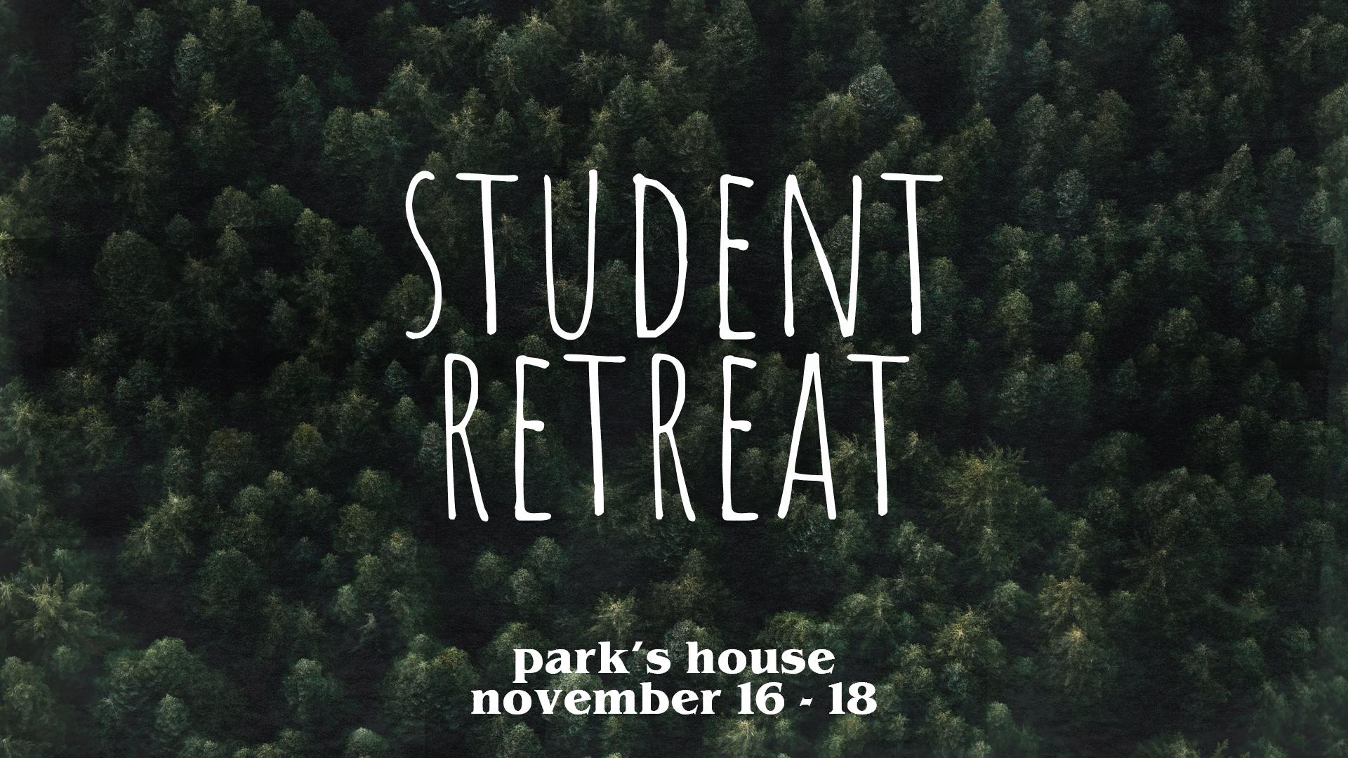 Student Retreat 2018
