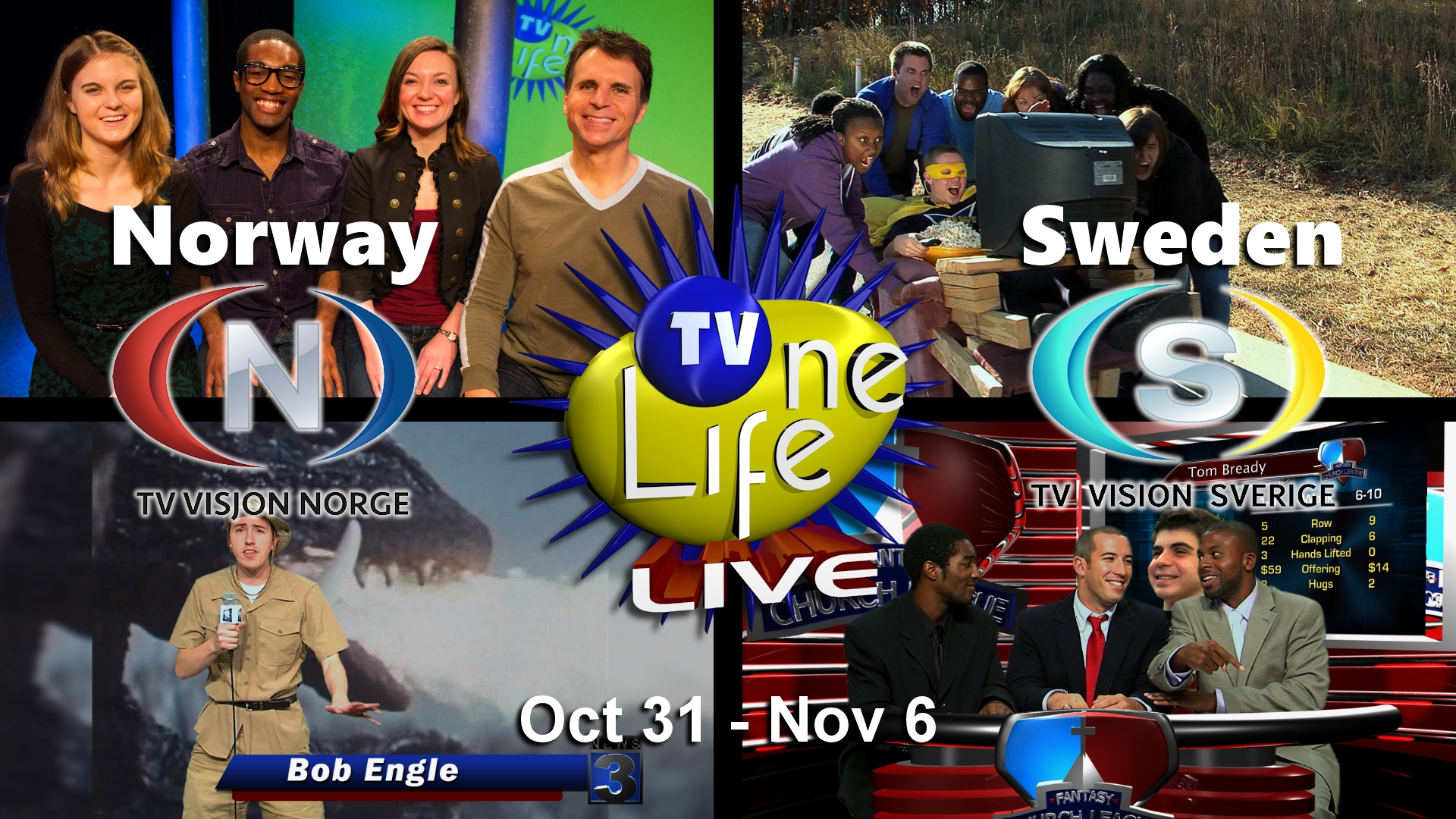 TV One Life Live in Norway & Sweden